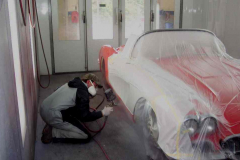 Frank Painting a car