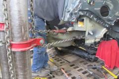 Frame Straightening Laser Measuring System